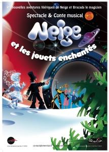 Affiche du spectacle de Dany Saint-Geniès